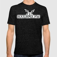 Soulwax FM Mens Fitted Tee Tri-Black SMALL