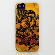 Harvest Time Toile iPhone (5, 5s) Slim Case