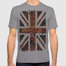 F/UNION Mens Fitted Tee Athletic Grey SMALL