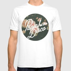 Panic! At The Disco  Mens Fitted Tee White SMALL