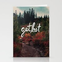 Get Lost In The Pacific … Stationery Cards