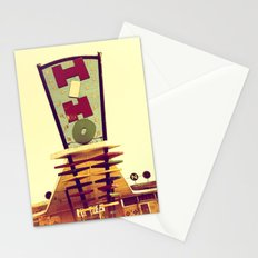 Mid-Century Strip Club Sign Stationery Cards