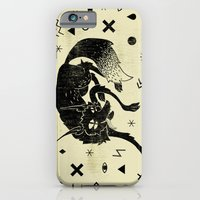 wolf iPhone & iPod Cases featuring Wolf by Anna Volk