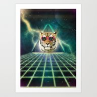 Art Print featuring Retro80 Is The New Wave by EdgarGS