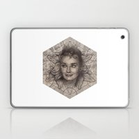 Audrey Hepburn Dot Work … Laptop & iPad Skin