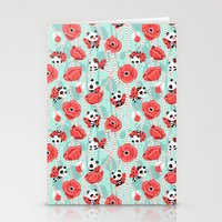 Poppy Pandas Stationery Cards