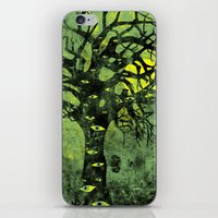 The Vision Tree (green) iPhone & iPod Skin