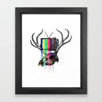 COLORS TV Framed Art Print