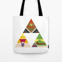 The Legend of Zelda: Legend of the Triforce Tote Bag