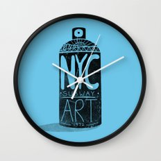 NYC 1972 Wall Clock