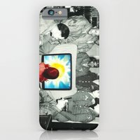 Blind leading the blind iPhone 6 Slim Case