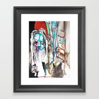 Lost In Moments Framed Art Print