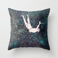 SHORTEN THE DISTANCE BET… Throw Pillow