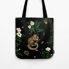 Monkey World: Amber-Ella Tote Bag