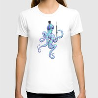 Cephalopod Performance Womens Fitted Tee White SMALL