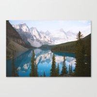 Lake Moraine Dos Canvas Print