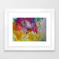 BiRD- JUSTART © Framed Art Print