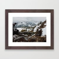Wenatchee National Forest Framed Art Print
