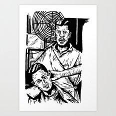 Pacific Gold Barbershop … Art Print