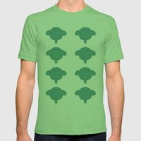 Wooly Sheep - 1 Mens Fitted Tee Grass SMALL