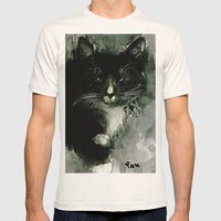 TUXEDO Mens Fitted Tee Natural SMALL