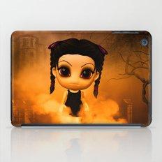 Chibigirl Wednesdays Haunted House iPad Case