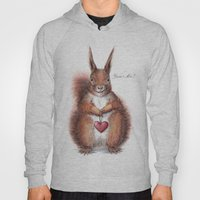 Squirrel heart love Hoody