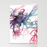 Galaxies Stationery Cards