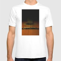 Guitar Ii Mens Fitted Tee White SMALL