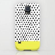 Polka Dot Rain Dip Galaxy S5 Slim Case