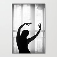 Dancing with the light Canvas Print