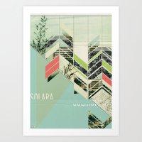 Solara Art Print