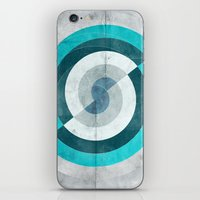 Blue Chaos iPhone & iPod Skin