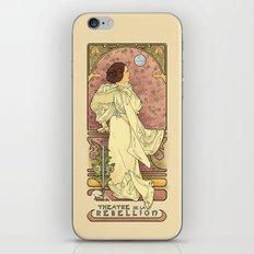 La Dauphine Aux Alderaan iPhone & iPod Skin