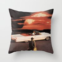Drive It All Over Me (Holocaust Remix) Throw Pillow