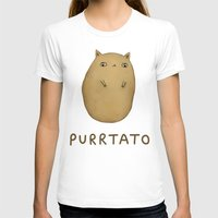 T-shirts featuring Purrtato by Sophie Corrigan