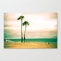 Lone Palms Canvas Print