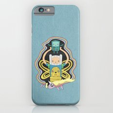 Time for Adventure with Finn, Jake, BMO, and Lady Rainicorn iPhone 6 Slim Case