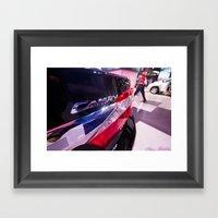 Toyota Camry Brand Logo Framed Art Print