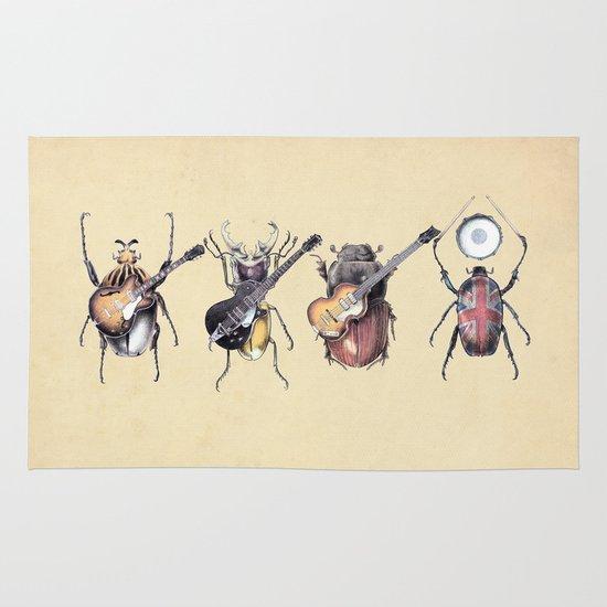 Meet the Beetles Area & Throw Rug