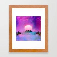 Purple Lemonade_ Framed Art Print