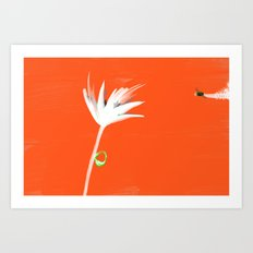 Flyower impulse Art Print