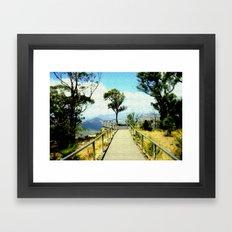 Boroka Lookout Framed Art Print
