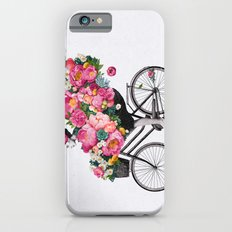 floral bicycle  iPhone 6 Slim Case