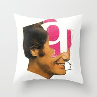 Inhale Throw Pillow