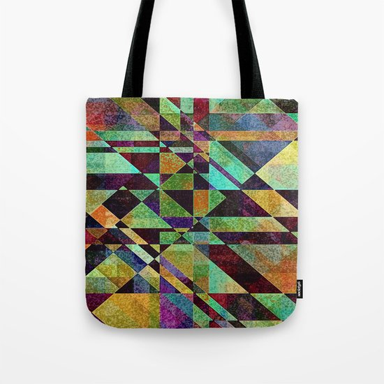 Fault Lines Tote Bag