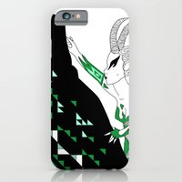 iPhone & iPod Case featuring Capricorn / 12 Signs of the Zodiac by Eltina Giannopoulou