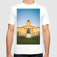 Winnipeg, MB, Canada Mens Fitted Tee White SMALL