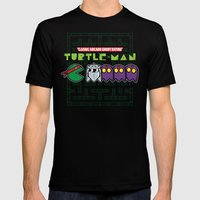 Hero In A Pac-Shell (Rap… Mens Fitted Tee Black SMALL