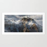 Clouds Vista Art Print